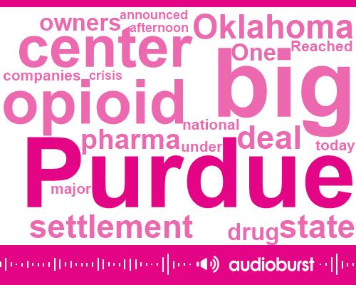 Purdue Pharma,Oklahoma,Purdue,Brian Man,Sackler,Oklahoma State University,Tulsa,NPR,Painkillers,Craig Landau,Bob Josephson,Attorney,Brian,Mike Hunter,Mahomes,Two Hundred Seventy Million Dollars,Twelve Million Dollars
