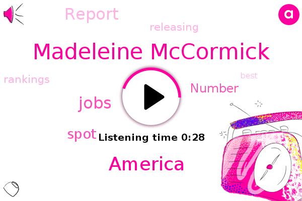 America,Madeleine Mccormick