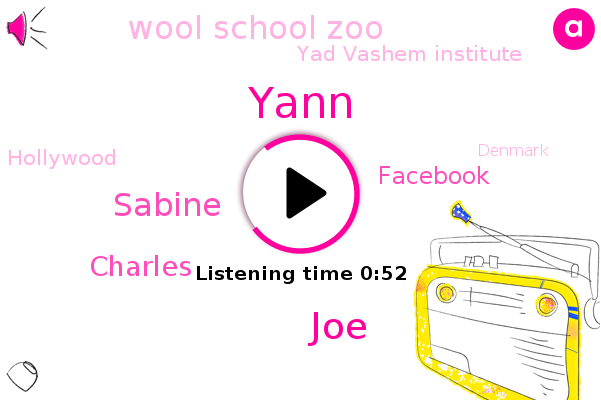 Wool School Zoo,Yann,JOE,Facebook,Yad Vashem Institute,Sabine,Hollywood,Denmark,Warsaw,Israel,Charles