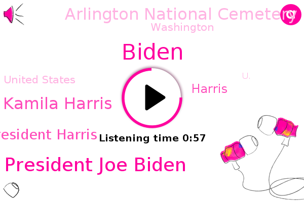 D. C. President Joe Biden,Kamila Harris,Washington,Abc News,United States,Vice President Harris,U.,Biden,Arlington National Cemetery,Harris