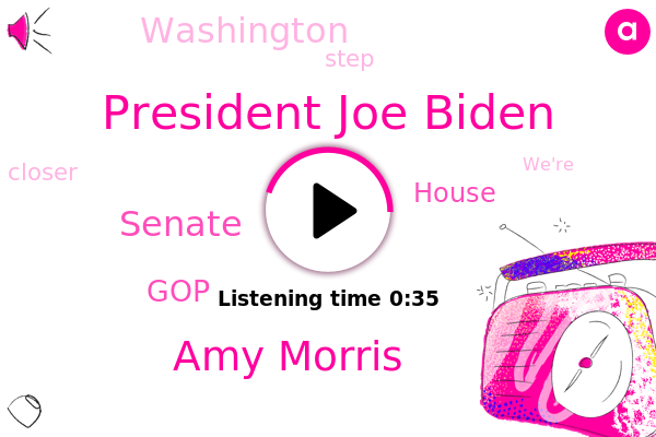 President Joe Biden,Senate,GOP,Amy Morris,House,Bloomberg,Washington