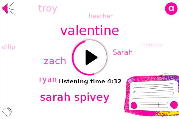 Valentine,Sarah Spivey,Zach,Nintendo,Spivey,Ryan,Golf,Sarah,Troy,Heather,Dilip