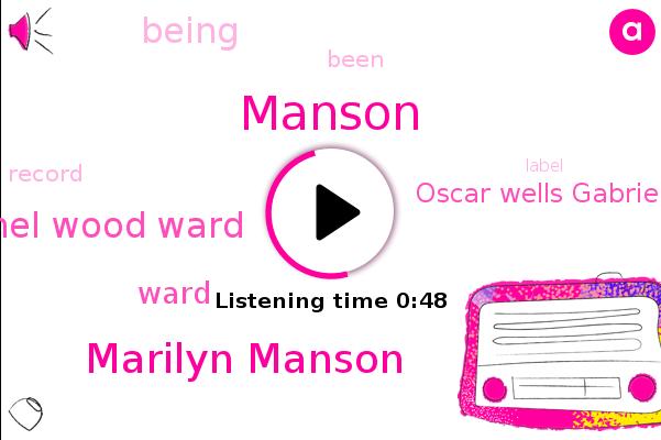 Listen: Actress Evan Rachel Wood accuses Marilyn Manson of abuse