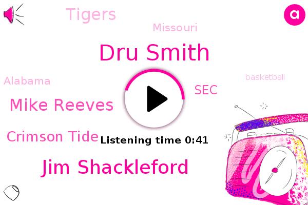 Missouri,Dru Smith,Crimson Tide,Alabama,SEC,Tigers,Basketball,Jim Shackleford,Mike Reeves