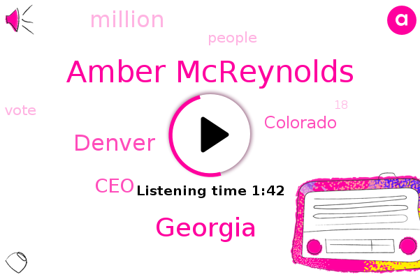 Amber Mcreynolds,Georgia,Denver,CEO,Colorado