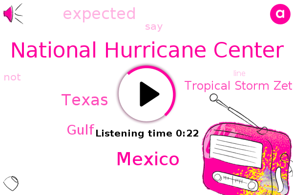 Tropical Storm Zeta,Gulf,National Hurricane Center,Mexico,Texas
