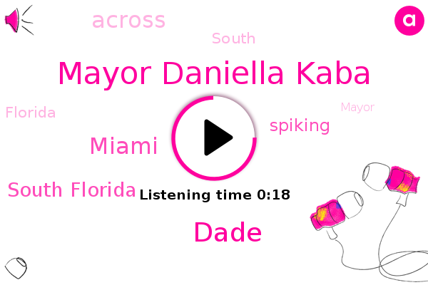 Listen: Miami-Dade Mayor Voices Concerns Over County's Increasing Hospitalization Rates