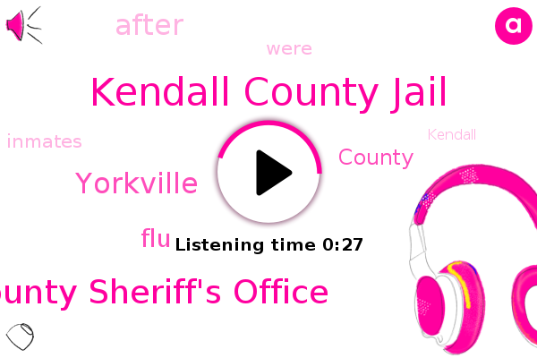 Listen: Eight inmates test positive for COVID-19 at Kendall County jail, SW of Chicago