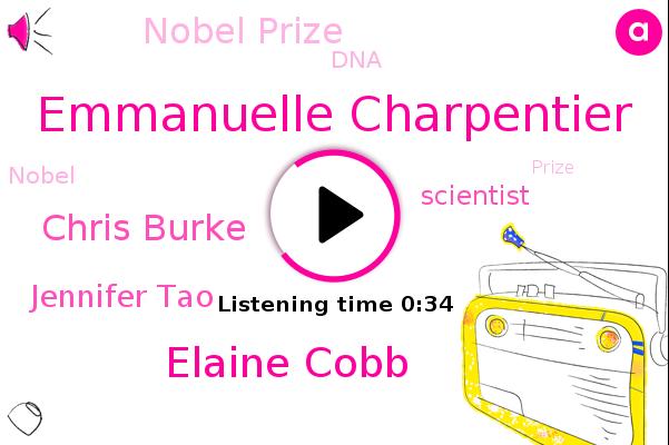 Nobel Prize,Emmanuelle Charpentier,Elaine Cobb,Chris Burke,Jennifer Tao,Scientist