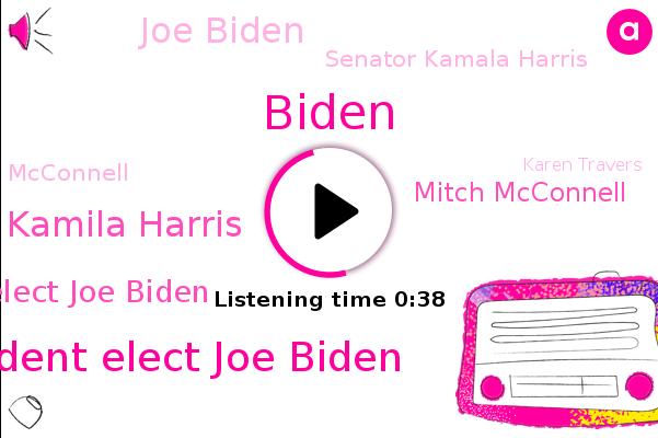 Listen: Mitch McConnell finally acknowledges Biden won election