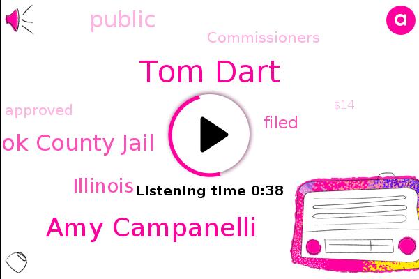 Cook County Jail,Illinois,Tom Dart,Amy Campanelli