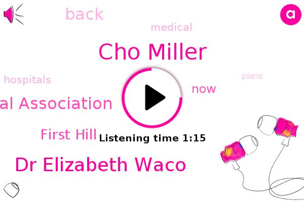 Cho Miller,Washington State Hospital Association,Dr Elizabeth Waco,First Hill