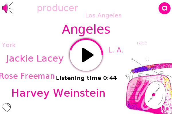 Harvey Weinstein,Los Angeles,Jackie Lacey,Angeles,Rose Freeman,Rape,Producer,York,L. A.
