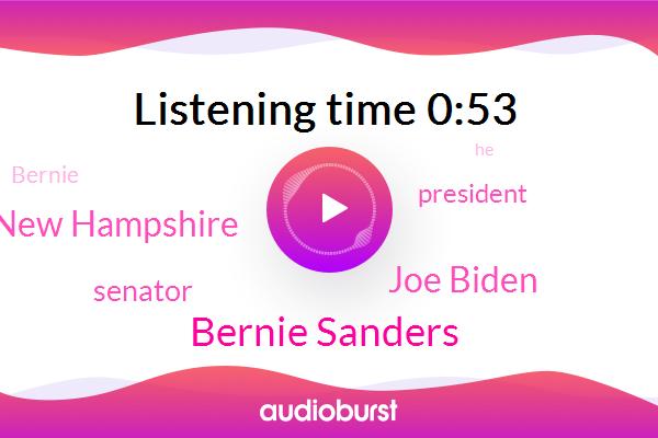 New Hampshire,Bernie Sanders,Joe Biden,Senator,President Trump