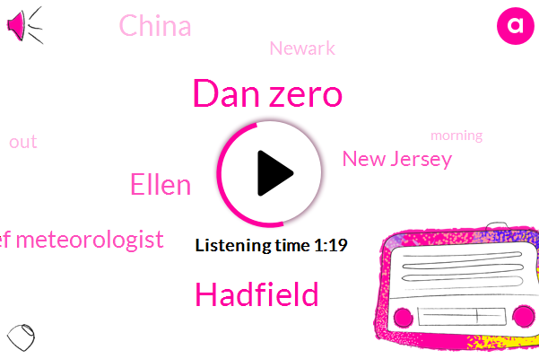 Chief Meteorologist,Dan Zero,Hadfield,New Jersey,China,Ellen,Newark