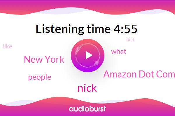 Amazon Dot Com,Nick,New York