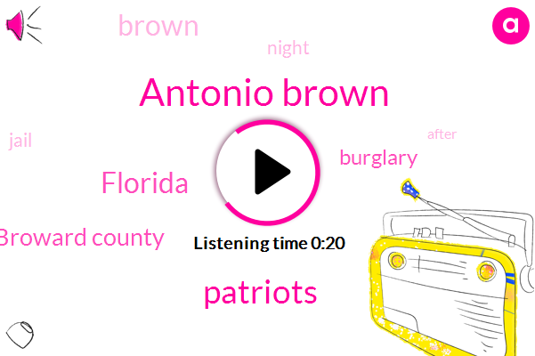 Listen: Antonio Brown, Wanted On 3 Charges, Surrenders Himself At Broward County Jail