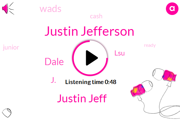LSU,Justin Jefferson,Justin Jeff,Dale,J.