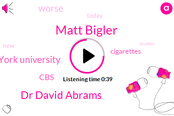 Listen: E-cigarettes may actually be worse for your heart than regular cigarettes