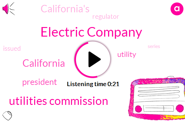 Listen: California utility hit over power outages