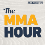 A highlight from Between the Links: What's Next For Tyron Woodley, Giga Chikadze's Eye-Opening Performance, UFC 268 Card Reveal