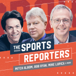 A highlight from The Sports Reporters - Episode 415 - Tis the Football Season! Heavy Hitter Week 1 NCAA Games. Who Are the Top NFL Teams?
