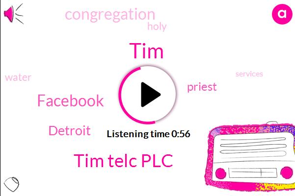 Tim Telc Plc,TIM,Detroit,Facebook