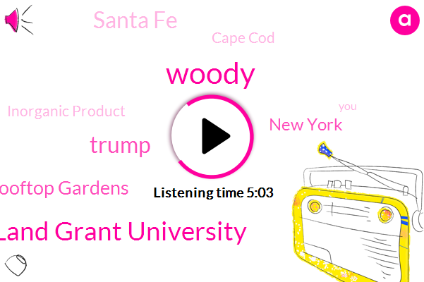 Woody,Rooftop Gardens,Cape Cod,New York,Inorganic Product,Land Grant University,Donald Trump,Santa Fe