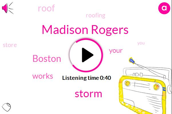 Storm,Boston,Madison Rogers