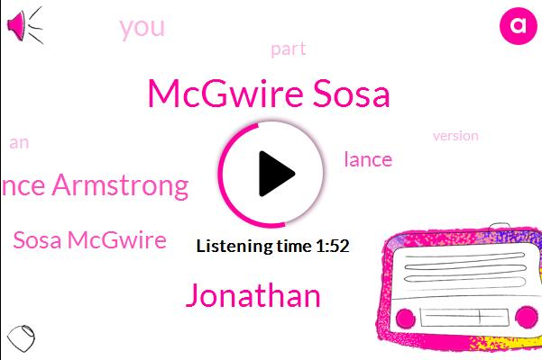 Espn,Mcgwire Sosa,Jonathan,Lance Armstrong,Sosa Mcgwire