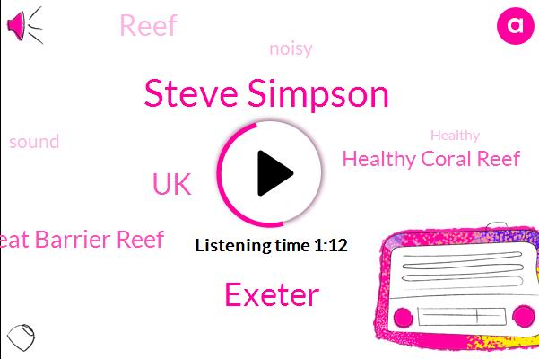 Great Barrier Reef,Healthy Coral Reef,Steve Simpson,Exeter,UK