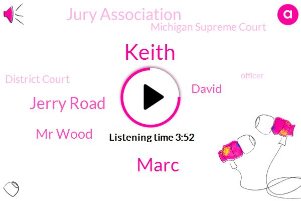 Jury Tampering,Jury Association,Keith,Officer,Michigan Supreme Court,Marc,Michigan,District Court,Jerry Road,Big Rapids,Acosta County,Lacosta County,Mr Wood,David