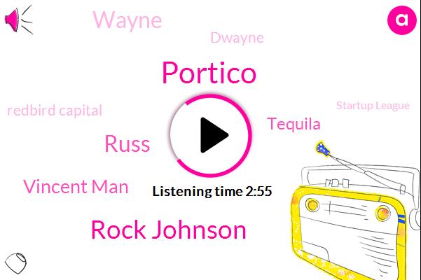 Rock Johnson,Football,Portico,Redbird Capital,Russ,Vincent Man,Tequila,Startup League,Commissioner,Portland,Wayne,Seattle,Partner,Saint Louis,Dwayne