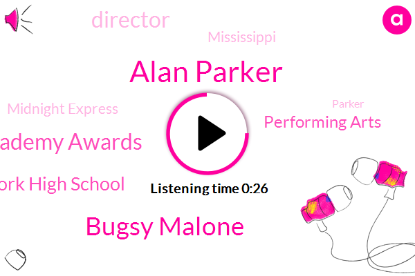 Alan Parker,British Academy Awards,Bugsy Malone,Midnight Express,New York High School,Performing Arts,Director,Mississippi