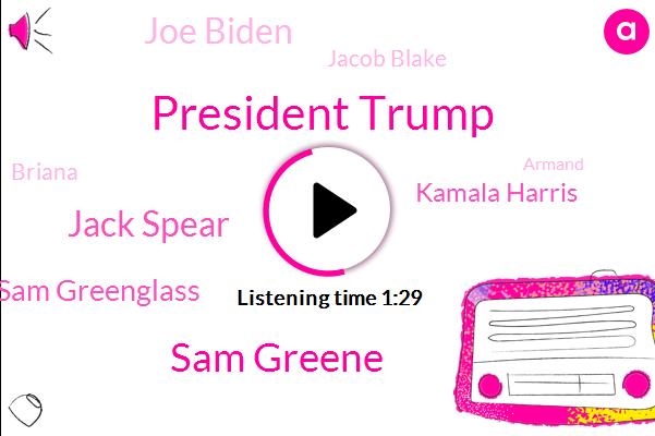 President Trump,NPR,Kenosha,Wisconsin,White House South Lawn,Sam Greene,Jack Spear,White House,Sam Greenglass,Kamala Harris,Joe Biden,Hurricane Laura,GOP,Jacob Blake,Briana,Armand,George