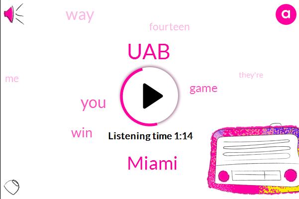 UAB,Miami