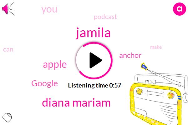 Apple,Google,Jamila,Diana Mariam