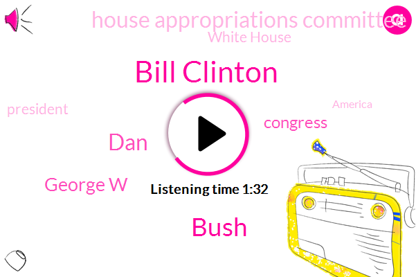 Bill Clinton,President Trump,Congress,House Appropriations Committee,Bush,White House,America,Persian Gulf,Arkansas,DAN,George W,Thirty Seven Percent