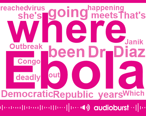 Dr Janik Diaz,Ebola,Congo,Democratic Republic Of Congo,UN,Benny,DRC,West Africa,Bala