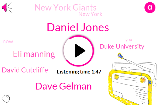 Listen: Daniel Jones is right quarterback for Giants -- right now