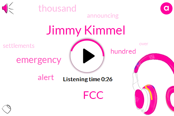 Listen: 'Jimmy Kimmel Live' hit with $395,000 fine over emergency tones in skit