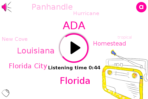 Florida,Louisiana,Hurricane,Florida City,New Cove,ADA,Homestead,Panhandle