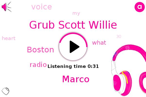 Grub Scott Willie,Marco,Boston