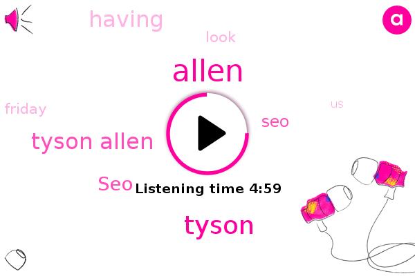 Tyson Allen,SEO,Tyson,Allen