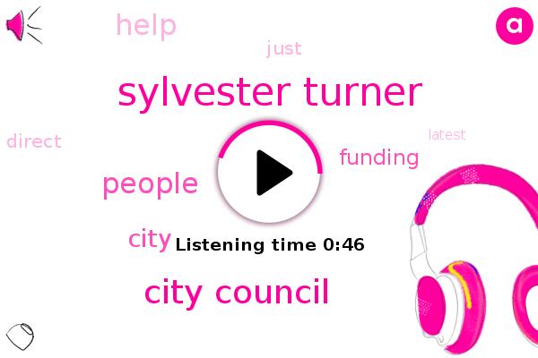 Sylvester Turner,Houston,City Council