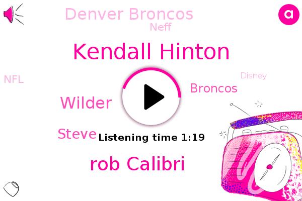 Kendall Hinton,Broncos,Denver Broncos,Neff,Denver,Rob Calibri,NFL,Wilder,Disney,Steve