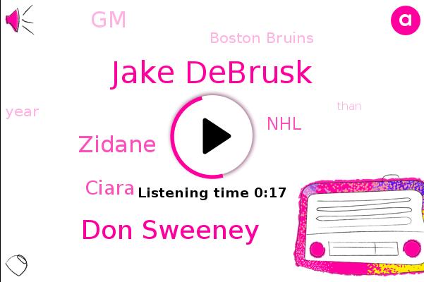 Jake Debrusk,Boston Bruins,Don Sweeney,NHL,GM,Zidane,Ciara
