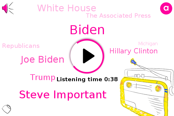 Steve Important,Biden,Michigan,CBS,White House,Wayne County,Joe Biden,Detroit,Donald Trump,Hillary Clinton,The Associated Press,Republicans,Wisconsin