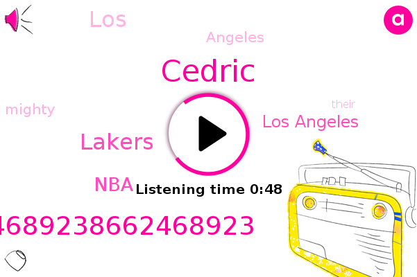 Los Angeles,Cedric,Lakers,NBA,86624689238662468923