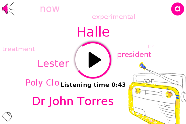 Dr John Torres,President Trump,Poly Clo,Lester,Halle